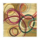 21 Tuesday I - Bright Circle Abstract