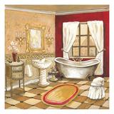 Florentine Bath - Red