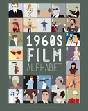 1960s Film Alphabet - A to Z