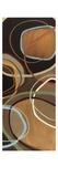 14 Friday Panel I - Brown Circle Abstract
