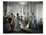 Vogue - June 1  1948 - Charles James Ballgowns