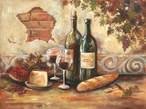 Bountiful Wine II Reproduction d'art par Gregory Gorham