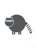 Charcoal Raccoon