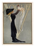 Vogue Cover - July 1910 Giclée premium