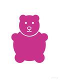 Fuschia Bear