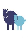 Blue Baby Horse