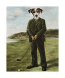 Golfeur malgré lui Giclée premium par Thierry Poncelet
