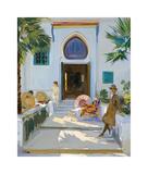My Studio Door  Tangier