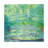 The Waterlily Pond with Japanese Bridge, 1899 Reproductions de collection premium par Claude Monet