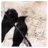 What Crows Reveal II Giclée premium par Ingrid Blixt