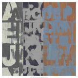 Alphabet Overlay I