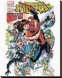 Spiderman-Comic Book Tableau sur toile