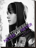 Justin Bieber-Never Say Tableau sur toile