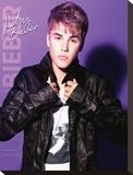 Justin Bieber Collar Tableau sur toile