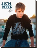 Justin Bieber-Rooftop Tableau sur toile
