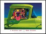 I Wanna Go Reproduction montée par Ron Burns