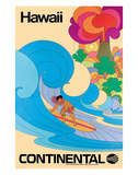 Continental Hawaii Surfer c1960's