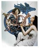 Untitled (Blue Pegasus)