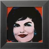 Jackie, 1964 Reproduction encadrée par Andy Warhol