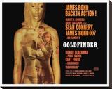 Goldfinger-Projection Tableau sur toile
