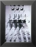Elvis, 1963 (triple Elvis) Reproduction encadrée par Andy Warhol