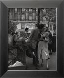 Paris, 1950 Reproduction encadrée par Robert Doisneau
