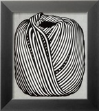 Ball of Twine, 1963 (serigraph) Reproduction encadrée par Roy Lichtenstein