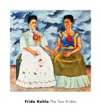 The Two Fridas,, c.1939 Reproduction d'art par Frida Kahlo