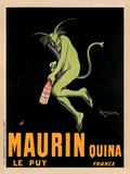Maurin Quina, c.1920 Reproduction d'art par Leonetto Cappiello