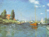 Red Boats Argenteuil  c1875