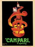 Bitter Campari L'Aperitif, c.1921 Reproduction d'art par Leonetto Cappiello