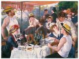 Le déjeuner des Canotiers  Reproduction d'art par Pierre-Auguste Renoir
