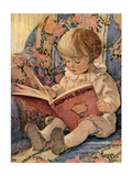Toddling Baby Reproduction d'art par Jessie Willcox-Smith