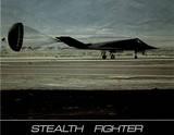 Stealth Fighter (Parachute Brake)