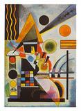 Balancement Reproduction d'art par Wassily Kandinsky