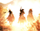Riding into the Sunset (Cowboys)