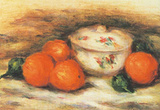 Still Life with a Covered Dish and an Orange