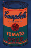 Colored Campbell's Soup Can  c1965 Blue & Orange
