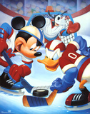 Mickey Mouse and Friends Ice Hockey