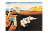 La persistance de la mémoire Reproduction d'art par Salvador Dalí