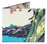 Utagawa Hiroshige Tyvek Mighty Wallet