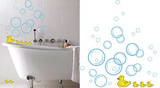Bubble Ducks 24 Wall Stickers