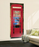 London Telephone Box Mural