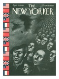 The New Yorker Cover - April 28  1945