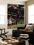 Boston  MA - June 03: LeBron James and Ray Allen