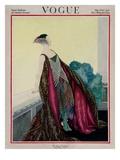 Vogue Cover - May 1921 Giclée premium par George Wolfe Plank