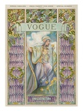 Vogue Cover - April 1905 Giclée premium