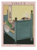 Vogue Cover - March 1920 Giclée premium par George Wolfe Plank