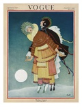 Vogue Cover - December 1920 Giclée premium par George Wolfe Plank