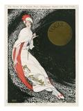 Vogue Cover - August 1912 - Moon Goddess Giclée premium par George Wolfe Plank